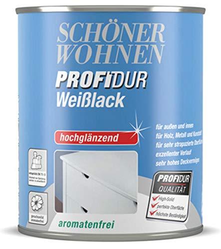 Profidur 125 ml Weißlack Hochglänzend Schöner Wohnen