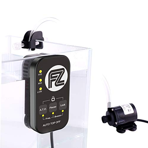 Fzone Triplo Sensore Acquario Aspace Smart ATO Sistema di Ricarica Automatica dell'Acqua Rabbocco Automatico Vasca con Algoritmo SPT Intelligente