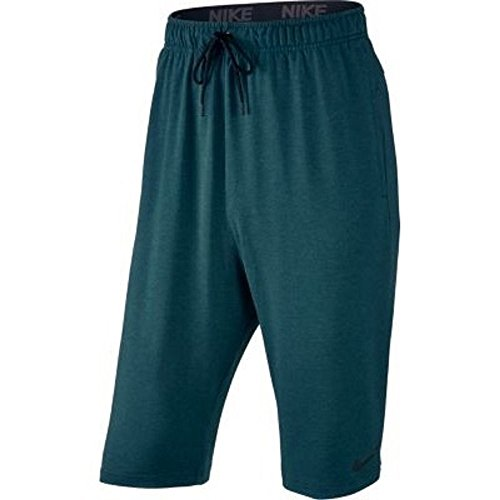 Nike Dri-Fit Training Fleece Short - Pantaloncini - Turquoise, M, Uomo