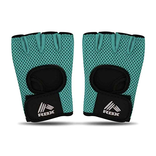 spri workout gloves RBX-SC1023E-S-P2 Small Fitness Gloves, Pair (Jaded)