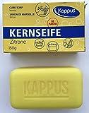 Kappus Kernseife Zitrone, einzeln verpackt **10 STÜCK** a 150g ohne Plastik, im Pappkarton,...