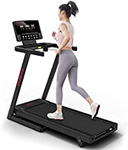 RUNOW Folding Treadmill for Home, 2.5HP Incline Treadmill with 36 Preset Programs, Treadmill Compact Running Machine for Home Gym Office Space