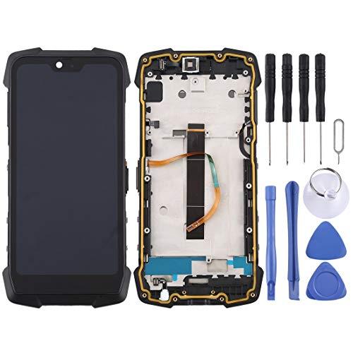 PENGCHUAN Partes de reparación de teléfonos móviles Pantalla LCD y Conjunto Completo de digitalizador para Blackview BV9700 Pro