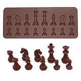 BESTONZON 16 stampi in silicone per cioccolatini fai da te, cioccolatini, budini, gelatine, mini cupcake (caffè)