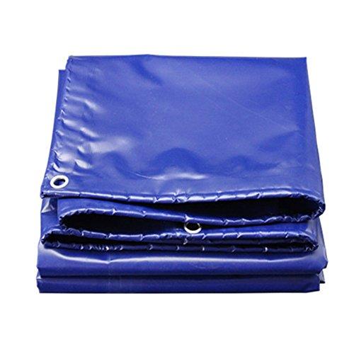 SXZHSM dikker vrachtwagen dekzeil plastic regen vizier regendoek elektrische driewielige luifel dekzeil waterdicht zonnezeil dekzeil waterdicht dekzeil 3x5m Blauw