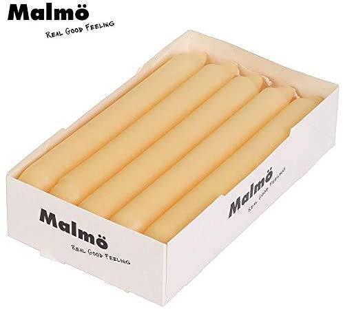 Malmö Tafelkerzen 10er-Set Champagner Stabkerzen Leuchterkerzen Tischdeko Kerzen