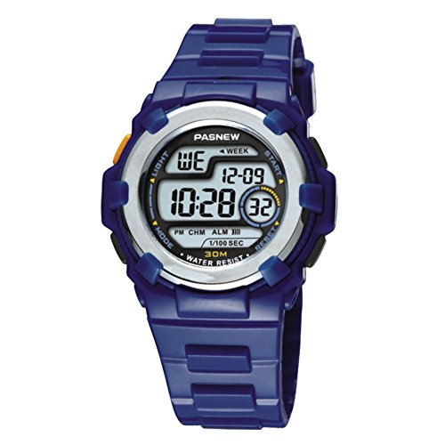Kinder Watch Electronic waterdicht Multi-Functional Candy Color Sport-C