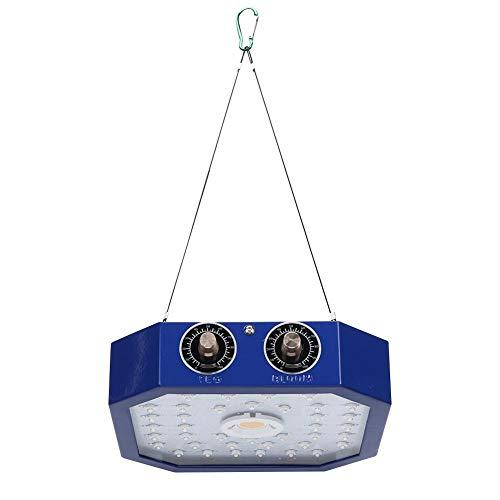 Pflanzenwachstumslicht, Vollspektrum IP67 Wasserdichte 1100W LED-Wachstumslampe für den Garten(European regulations)