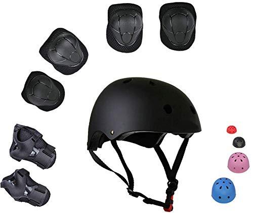 Zimax skateboards en kinderbescherming, bestaande uit verstelbare helm, kniebeschermer, elleboogbeschermers, skateboarden, skateboarden en extreme sporten.