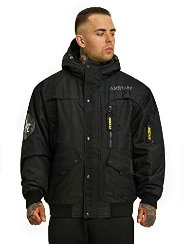 Amstaff Conex Winterjacke 3.0 Schwarz XL