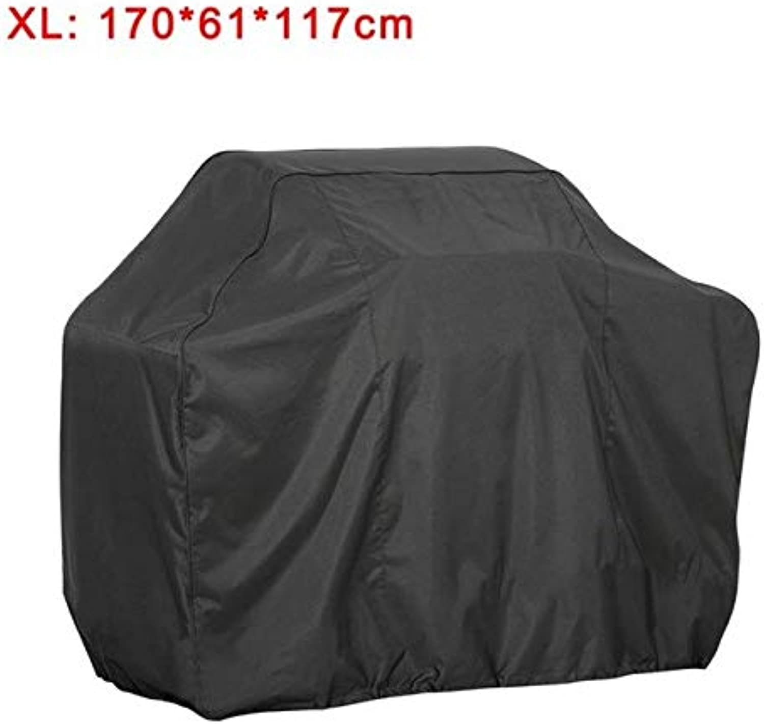 For Home Dust Cover Rain Proof Durable Waterproof Black BBQ