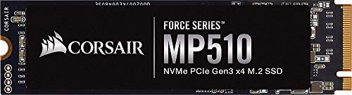 Corsair Force MP510 1920 GB NVMe PCIe Gen3 x4 M.2-SSD (up to 3.480 MB/s)