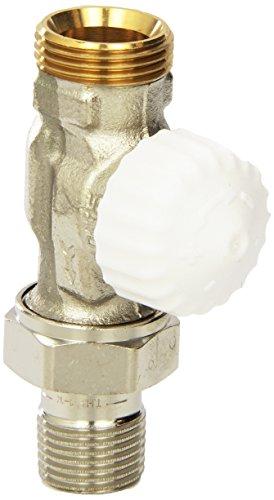 TA Heimeier thermostaat ventielonderdeel V-precies II doorgang met AG 3/4 RG vn 1/2 inch kvs 0,86, 3720-02.000