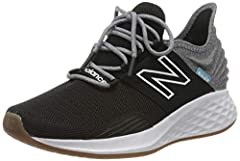Truly Unique: The New Balance Fresh Foam Roav v1 running shoes are the ultimate in casual athletic style. Pairing a bold, attractive look with plush comfort, these cushioned running shoes are in a league of their own. Fresh Foam Midsole: Feel like yo...