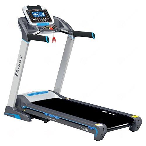 PowerMax Fitness TDA-350 3HP (6HP Peak) Motorized Treadmill...