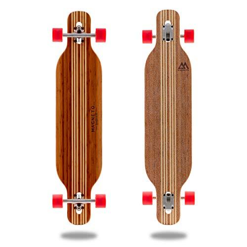 Hana Longboard Collection | Longboard Skateboards | Bamboo with Hard...