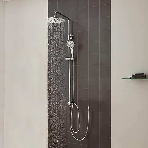 CECIPA colonna doccia senza miscelatore asta doccia regolabile con soffione kit doccia saliscendi doccia con soffione