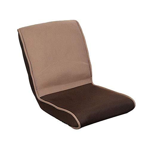 YHLZ Lazy Sofa, Boden Stuhl Folding faul Sofa, Stuhl, Boden Stühle mit Rückenstütze for Erwachsene, Leichter Bodenlesekissen, for Yoga/Meditation/Seminar (Color : C)