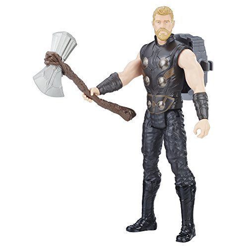 Avengers- Infinity War Titan Hero Power Fx Thor, Multicolor