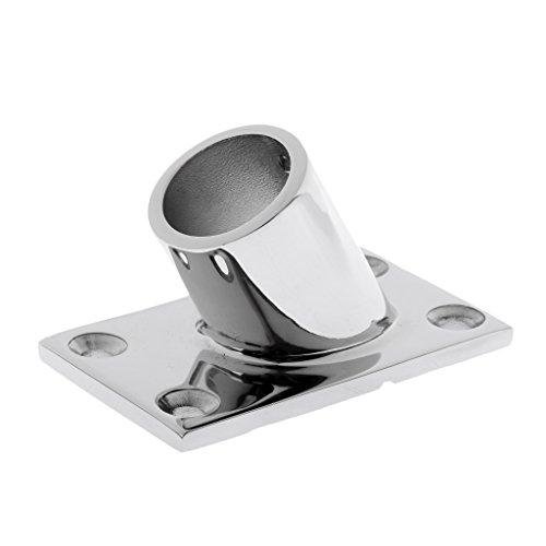 Sharplace Boot Handlauf Relingsbeschlag Relingfuß Edelstahl - 22mm