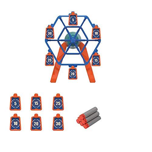 Electronic Shooting Target Scoring Auto Reset Digital Targets for Nerf Guns Toys Ideal Gift Toy for Kids Targets Shooting Game (Shooting Target)