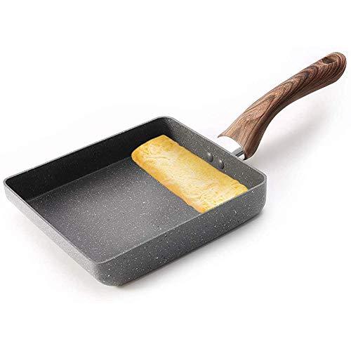 Takoyaki Japanse Portable Anti-Aanbak Pan Pan, Plein Gepocheerd Ei Kleine Keuken, Sarten Tortilla Aardappel, Gray