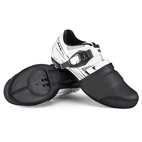 Duan hai rong Al Aire Libre Cubrepuntas de Ciclismo, Mujer Hombre Invierno Impermeable MTB Bicicleta de Carretera Puntera Cubre Zapatos Calentadores Ciclismo Unisexo (Size : Large)