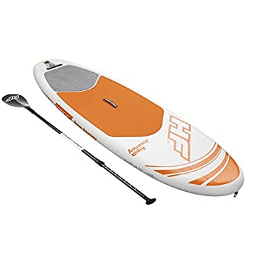 Bestway Hydro-Force 9' x 30  x 4.75  Aqua Journey Inflatable Stand Up Paddle Board