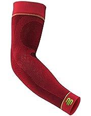 Bauerfeind, 1 par de mangas de compresión deportivas de compresión, unisex, derecha e izquierda, para deportes de pelota y resistencia, fortaleciendo los músculos