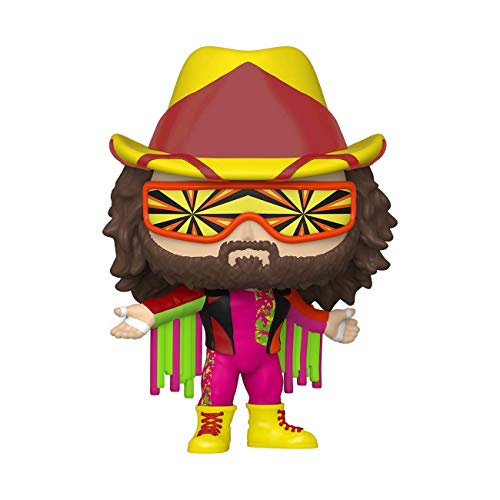 Funko- Pop WWE New Wave Summer Slam-Macho Man Randy Savage Figura coleccionable, Multicolor (49264)