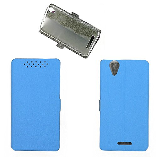 QiongniAN Hülle für Acer Liquid Z630 T03 Hülle Schutzhülle Hülle Cover Lake Blue