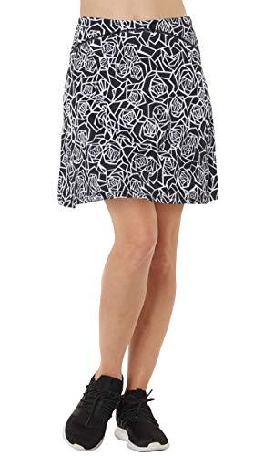 Westkun Falda de Golf Tenis Skort Mujer Negra Negra Pantalón Ropa Padel Running Corta Moda Deportivas Short