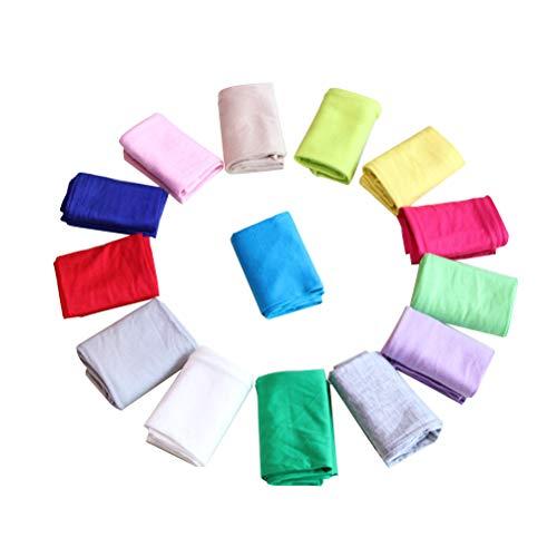 LIOOBO 4 Paar UV-Schutzhandschuhe Handgelenklänge Sun Block Fahrhandschuhe Frauen Fingerlose Handschuhe (zufällige Farbe)