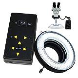 144 Makro-LED-Ringblitz und Ringlicht 4-Zone Ring Licht...