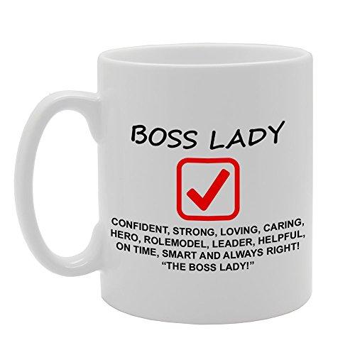 MG813 BOSS LADY / WORK BOSS / THE BOSS Novelty Gift Printed Tea Coffee...