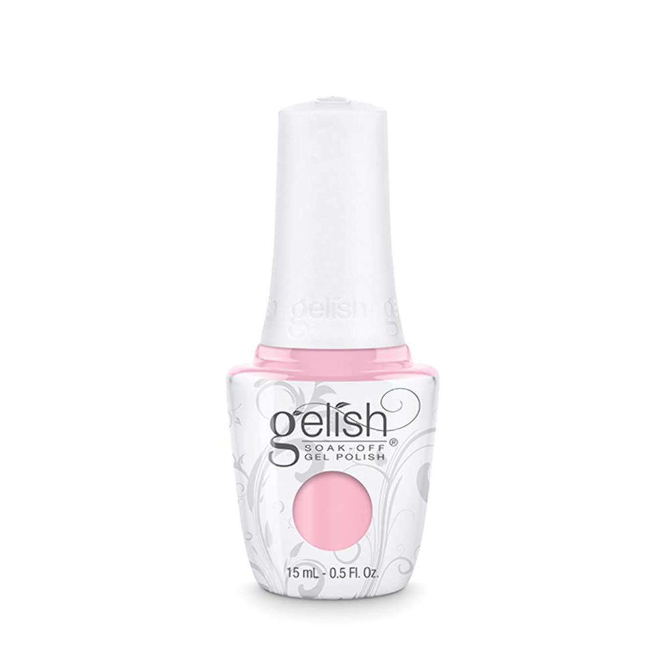 ほぼ吹雪パーフェルビッドHarmony Gelish Gel Polish - Pink Smoothie - 0.5oz / 15ml