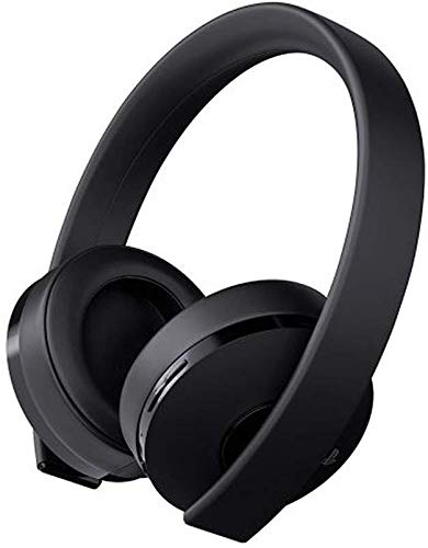 Sony Playstation Gold Wireless Headset 7.1 Surround Sound PS4 New Version 2018 1st Party Sony Refurbished (Renewed)