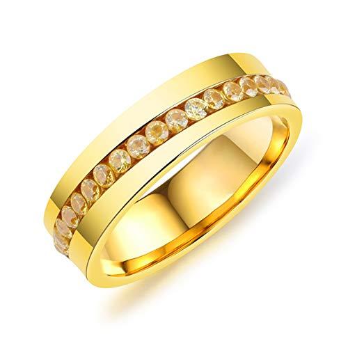 DJDLNK Vintage Punk ringen van titanium staal voor heren verlovingsring met strass sieraden meerkleurig