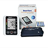 Smart Care Digital Blood Pressure Monitor | Upper Arm Cuff Monitor | Portable for Adults Pregnancy Home Clinical use