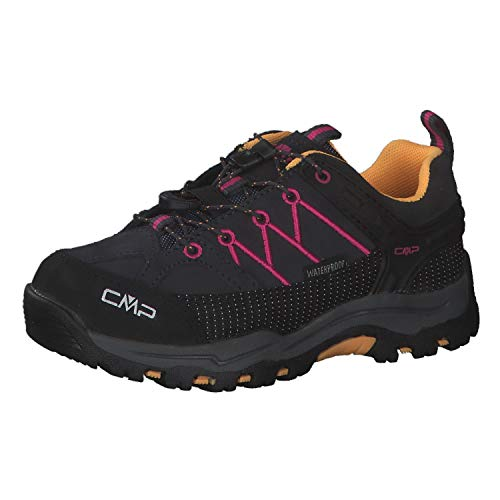 CMP Kinder Trekking Schuhe Rigel Low WP 3Q13244 Antracite-Bouganville 30