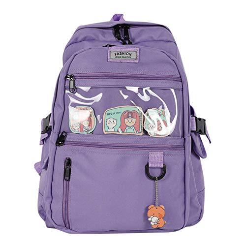 Picapoo Mochila para mujer, informal, para escuela, mochila de viaje, para adolescentes, niñas, regalos de Pusheen The Cat | Mochila | cosas lindas | mochila grande