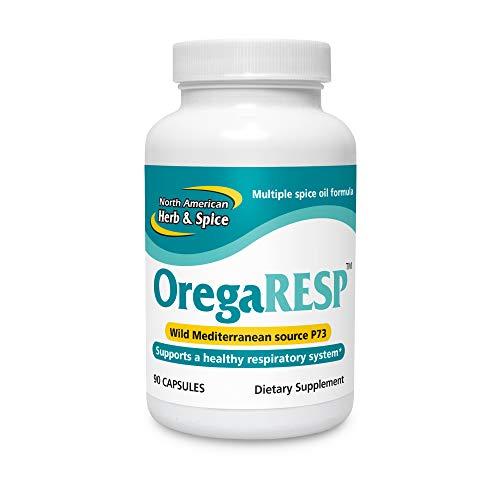 North American Herb & Spice OregaResp - 90 Veggie Capsules - Immune & Respiratory Health - Cumin, Sage, Oregano Oil - Safe for Children & Pets, Non-GMO - 90 Total Servings