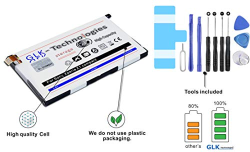 !GRATIS BLITZVERSAND! Original GLK-Technologies® / Akku passend für Sony Xperia Z1 Compact / D5503 / (ersetzt LIS1529ERPC) / inkl. Werkzeug Set 2020 B.j