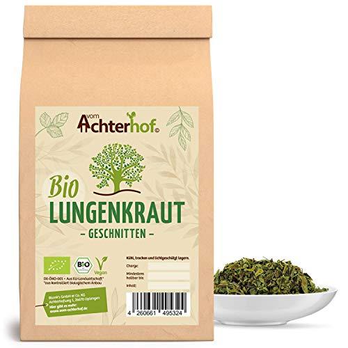 BIO Lungenkraut geschnitten getrocknet (250g) Lungenkrauttee vom-Achterhof Lungwort herb Organic