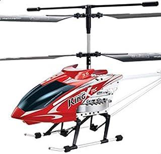 طائرة هليكوبتر كبيرة الحجم وبمصابيح باضاءة ليد وجهاز تحكم عن بعد بقناة 3.5 لتكون جاهزة للتحليق، جايرو