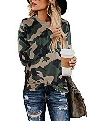 Features: This leopard print t shirt for women is detailed with short sleeve, classic contrast color round neckline,super cute to style with anythying. Style: basic style but trandy and fashionable, lightweight material offer relax feeling on this to...