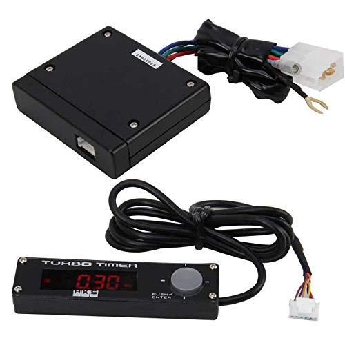 HKS TYPE-0 LED Pantalla digital Auto Car Turbo Timer Relay Controller Kit Universal, for reemplazo de automóviles Accesorios de piezas