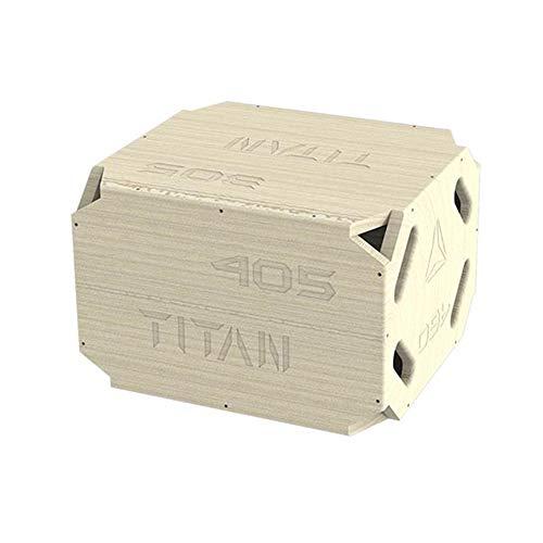 Plyo Box - Plataforma de madera para crossfit, entrenamiento de salto, entrenamiento de salto, entrenamiento de fitness en el hogar, equipo de entrenamiento para fitness,3 en 1, 30/40/50 cm
