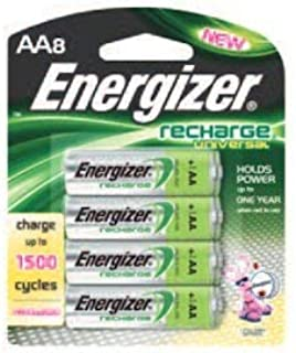 Energizer 11707 - AA Cell 1.2 volt Universal Recharge Battery (8 pack) (UNH15BP-8)