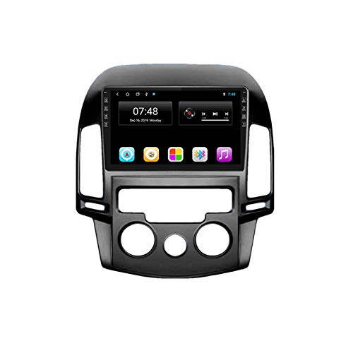 KCSAC 2DIN Android 9.0 CAR RADIO FITS PARA HYUNDAI I30 2007-2016 Coche Multimedia Video Player Navigation Car Stereo 2 Din Auroradio Player (Color : WIFI 2G 32G)